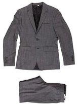 Burberry Wool Plaid Suit