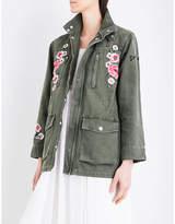 Claudie Pierlot Vaudou denim jacket