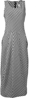 Comme des Garcons Pre-Owned 1992's houndstooth long dress