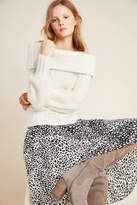 Anthropologie Margo Off-The-Shoulder Sweater