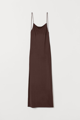 H&M Low-backed Dress - Brown