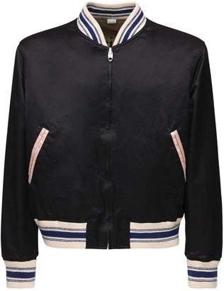 Gucci Reversible Cotton & Viscose Bomber