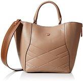 Nica Womens Hayley Top-Handle Bag Mink Emboss