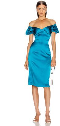 Alexis Cadiz Dress in Capri Blue | FWRD