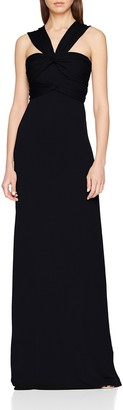 Hoss Intropia Women's P581VEX06240600 Party Dress Black (Negro 600) 8 ('s Size:X-Small)