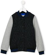 Kenzo logo bomber jacket - kids - Cotton/Spandex/Elastane - 4 yrs