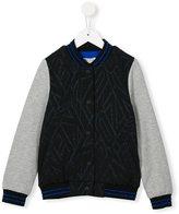 Kenzo logo bomber jacket