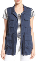 Caslon Soft Utility Vest (Regular & Petite)