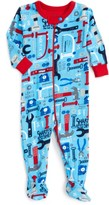 Hatley Infant Boy's Organic Cotton Fitted One-Piece Footie Pajamas