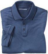 Johnston & Murphy Short-Sleeve Herringbone Polo