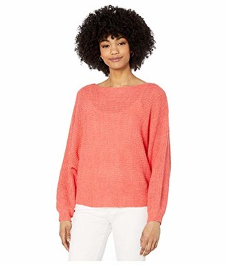 Cupcakes And Cashmere Women's Sonrisa Rib Knit Dolman Sweater