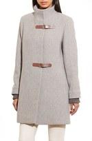 Lauren Ralph Lauren Women's Funnel Neck Wool Coat