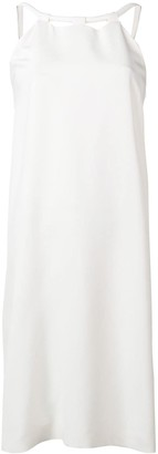 Gianluca Capannolo sleeveless shift midi dress