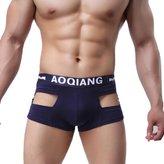 Tonsee Sexy Men Underwear Cotton Boxers Brief (M, )