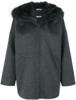 P.A.R.O.S.H. fur hooded coat