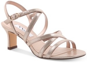 Nina Genaya Strappy Evening Sandals Women's Shoes