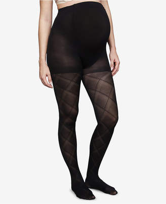 A Pea in the Pod Maternity Patterned Tights