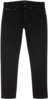 Polo Ralph Lauren Sullivan black slim-leg jeans