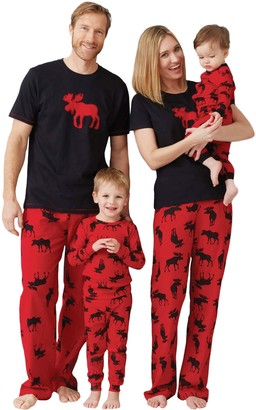Hatley Little Blue House by Womens Moose Family Pajamas