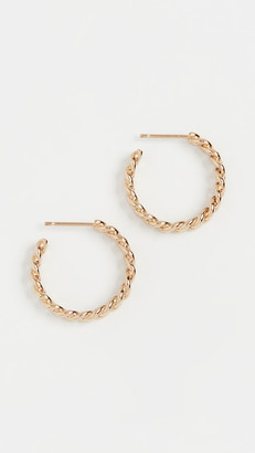Jennifer Zeuner Jewelry Charly Small Hoop Earrings