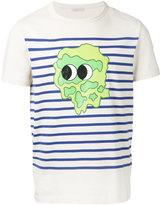Moncler striped print T-shirt - men - Cotton - S
