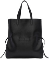 Jil Sander Black Large Lace Shopper Tote