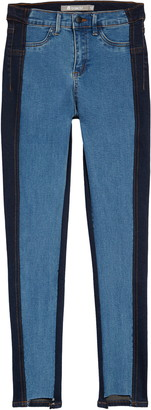 Tractr Kids' Two-Tone Skinny Jeans