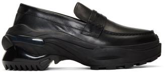Maison Margiela Black Retro Fit Sole Loafers