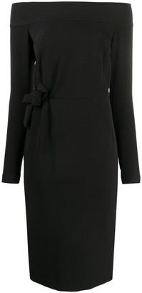 P.A.R.O.S.H. Proto off-shoulder dress