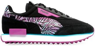 Puma Women's Future Rider Neon Safari Sneakers