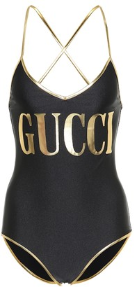 Gucci Logo one-piece swimsuit