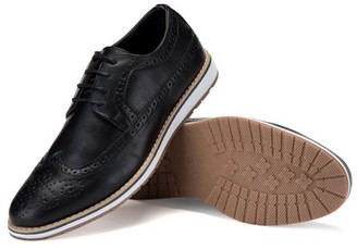 MIO Marino Men's Gazler's Casual Oxford Wingtip Dress Shoes