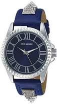 Steve Madden Men's Quartz Silver-Tone Casual Watch