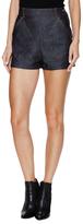 Balenciaga High Waisted Denim Short