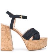 Gianvito Rossi denim platform sandals
