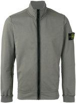 Stone Island zip up jacket - men - Cotton/Spandex/Elastane - XXL