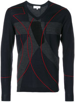 Salvatore Ferragamo colour block pullover