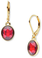 Anne Klein Siam Drop Earrings