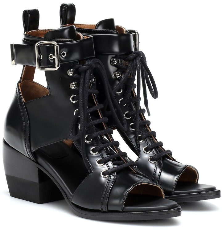 e58800712d Leather ankle boots