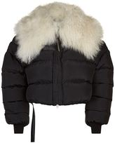 Unravel Mongolia Shearling Down Jacket