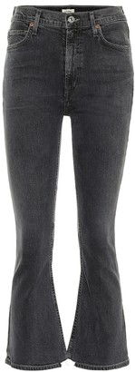Citizens of Humanity Demy high-rise cropped jeans