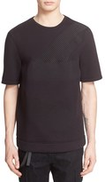 Helmut Lang Embroidered Short Sleeve T-Shirt