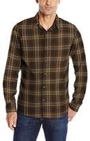 G.H. Bass Men's Long Sleeve Plaid Trail Shirt