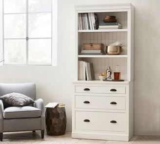 "Pottery Barn Aubrey 36"" x 84"" Lateral File Cabinet Bookcase"