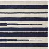 Williams-Sonoma Williams Sonoma Aura Stripe Indoor/Outdoor Rug, Navy