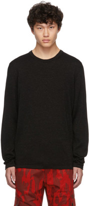 HUGO Black Wool Sepo Sweater