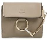 Chloé Women's Faye Leather Wallet - Grey