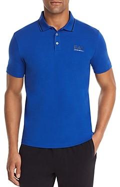 Giorgio Armani Emporio EA7 Logo Regular Fit Polo Shirt