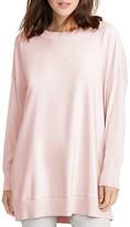 Lauren Ralph Lauren Twill Front Silk Blend Sweater
