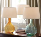 Pottery Barn Eva Colored Glass Table Lamp